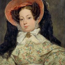 Пазл онлайн: Портрет принцессы Брагансе
