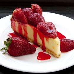 Пазл онлайн: Клубничный десерт