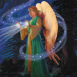 Пазл онлайн: Ангельский свет