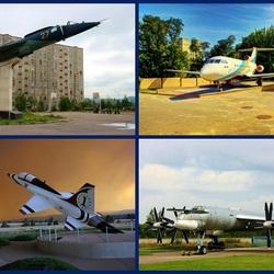 Пазл онлайн: Памятники авиационных изделий