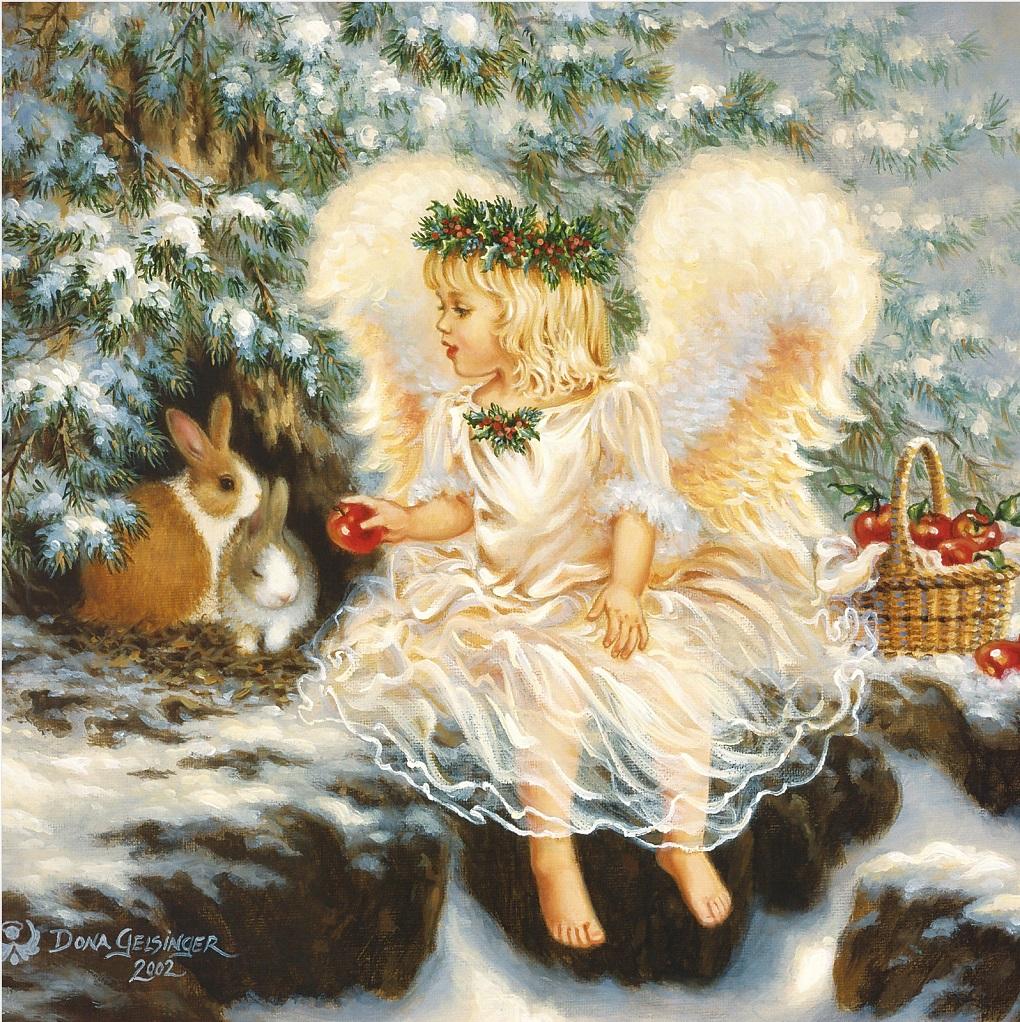 новогодний ангел картинки гиф информация