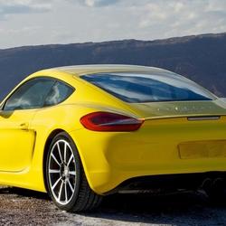 Пазл онлайн: Porsche cayman