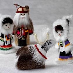 Пазл онлайн: Этно-сувениры из меха