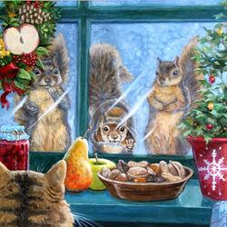 Пазл онлайн: Рождественские вкусности