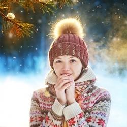 Пазл онлайн: Зима