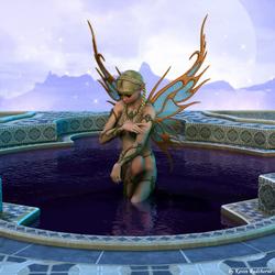 Пазл онлайн: В бассейне