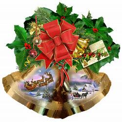 Пазл онлайн: Звон рождественского колокольчика