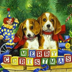 Пазл онлайн: Веселого Рождества!