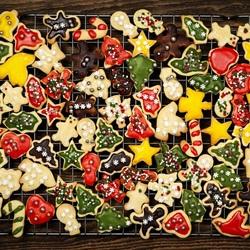 Пазл онлайн: Печенье на Новый год