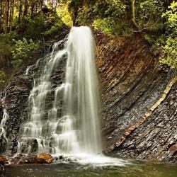 Пазл онлайн: Водопад Гук