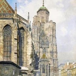 Пазл онлайн: Кафедральная площадь. Старая Вена