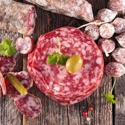 Пазл онлайн: Вкусная колбаска