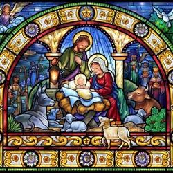 Пазл онлайн: Светлое Рождество
