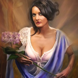 Пазл онлайн: Пряный цветок