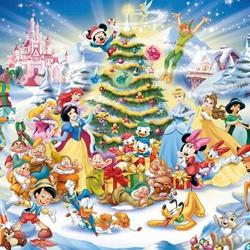 Пазл онлайн: Новый год в Стране сказок