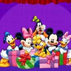 Пазл онлайн: Все с подарками