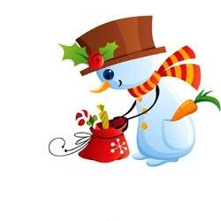 Пазл онлайн: Подарки для снеговичка