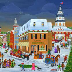 Пазл онлайн: Рождество в Аннаполисе
