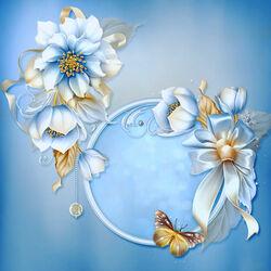 Пазл онлайн: Зимние цветы