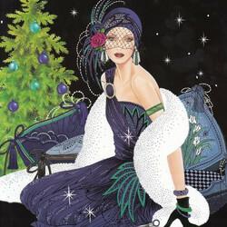 Пазл онлайн: Новогоднее волшебство
