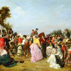 Пазл онлайн: Поломничество в Торрихос