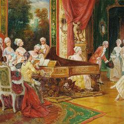 Пазл онлайн: Концерт во дворце