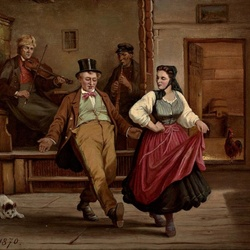 Пазл онлайн: Танцы