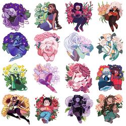 Пазл онлайн: Вселенная Стивена в цветах