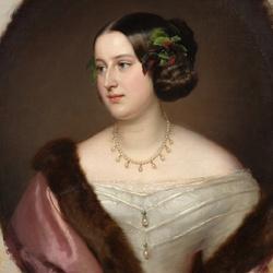 Пазл онлайн: Портрет княгини Е.А. Клари-и-Альдринген