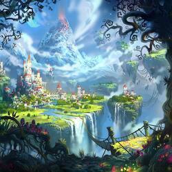 Пазл онлайн: Волшебная страна