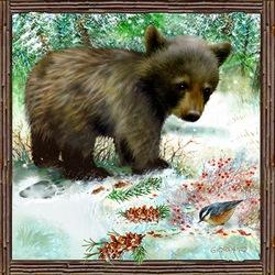 Пазл онлайн: Медвежонок