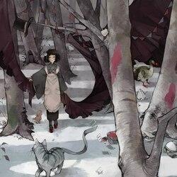 Пазл онлайн: Алиса в стране Зимы