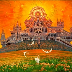 Пазл онлайн: Храм солнца