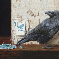 Пазл онлайн: Умная птица
