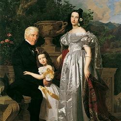 Пазл онлайн: Портрет семьи Керзманн
