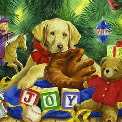 Пазл онлайн: Радость праздника