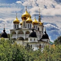 Пазл онлайн: Собор в Дмитрове