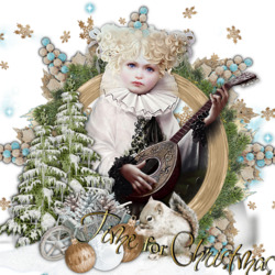 Пазл онлайн: Время Рождества