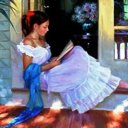 Пазл онлайн: Любимая книга