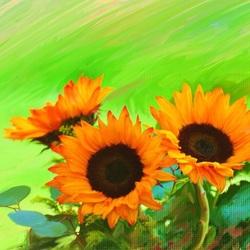 Пазл онлайн: Солнечный цветок