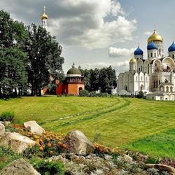 Пазл онлайн: Николо-Угрешский монастырь
