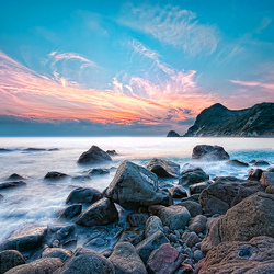 Пазл онлайн: Морской рассвет
