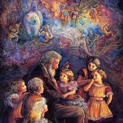 Пазл онлайн: Дядюшкины сказки
