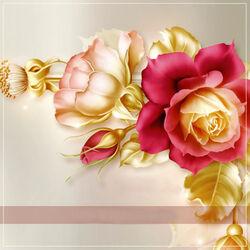 Пазл онлайн: Роза зимой