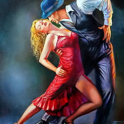 Пазл онлайн: Танго