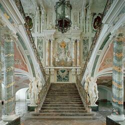 Пазл онлайн: Лестница в интерьере