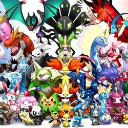 Пазл онлайн: Покемоны