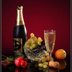 Пазл онлайн: Виноград к шампанскому