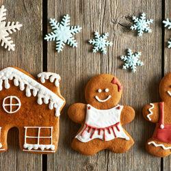Пазл онлайн: Имбирное печенье