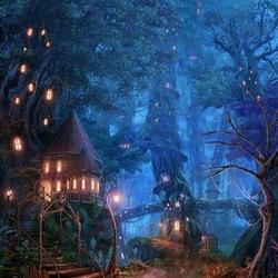 Пазл онлайн: Сказочный лес